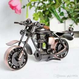 Discount iron metal model motorcycles - Metal Crafts Decoration Home Decorations Large Iron Motorcycle Model Creative Gifts