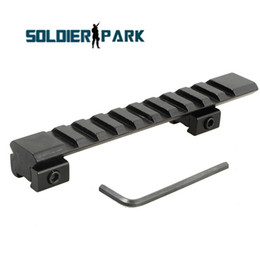 T mounT online shopping - NEW Slot Low Riser WEAVER PICATINNY Rifle Mount Scope Mount Rail mm Aluminum Alloy Durable Hunting Airsoft Tactical Mount order lt no t