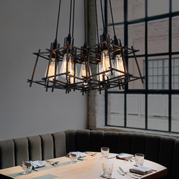 $enCountryForm.capitalKeyWord NZ - Modern Pendant Lamps American Industrial Retro Hanging Pendant Lights Fixture Black Metal Cafes Lamp Home Indoor Lighting Vintage Droplight