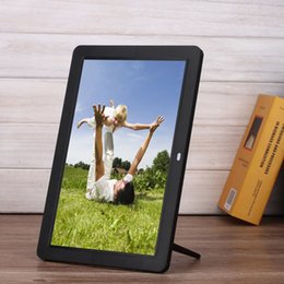 Frame Mp3 Canada - New Digital Photo Frames Smart Home TFT LED Digital Movies MP3 Alarm Clock Photo Frame with Remote Control Touch Pen US Plug