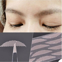 $enCountryForm.capitalKeyWord Canada - 120 Pair Fashion Seamless Invisible Lace Mesh Gauze Eye Stickers Double Eyelid Tape Eyelid Paste Magic Beauty Makeup Eyeli Free Shipping
