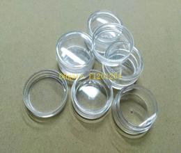 plastic jars 5ml 2018 - 500pcs lot Fast Shipping Wholesale 5G 5ml Nail Art Glitter Dust Powder Empty Case Box Clear Pots Bottle Container Jar