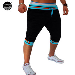 yellow compression shorts NZ - Wholesale-Shorts Mens Gym Tights Compression Bermuda Basketball Short Gym Candy Color Series Sport Men Homme Running Surf Shorts TWOJNMH