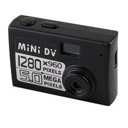 5mp Hd Digital Camera Canada - 5MP HD 1280*960 Smallest Mini DV Digital Camera Video Recorder Camcorder Webcam DVR Real-time Video Recording