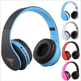 Discount red white audio - NEW STN-12 Stereo Music Headphone 4in1 Multifunctional Wireless Bluetooth 3.0 + EDR Headset 3.5mm audio Jack for iPhone