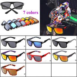 2016 Nuevos Deportes Gafas de Sol Fox The Danx Venta Caliente Gafas de Conducción Lentes Reflexivas Templos Dentro de Impresión Gafas de Sol RYAN DUN Gafas de Sol en venta