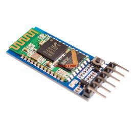 Chinese  Wholesale-HC05 HC-05 master-slave 6pin JY-MCU anti-reverse, integrated Bluetooth serial pass-through module, wireless serial manufacturers