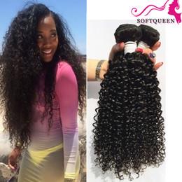 Discount promotion brazilian virgin hair - Promotion! Brazilian Curly Virgin Hair Unprocessed Human Hair Extenhsions Natural Color 3 Bundles 7A Kinky Curly Peruvia