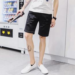 Discount Mens Distressed Shorts | 2017 Mens Distressed Denim ...