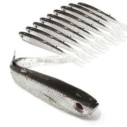 10 см 4g бионический рыбы силиконовые приманки рыболовные приманки мягкие приманки 3D глаза искусственные приманки Pesca снасти аксессуары