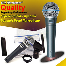 $enCountryForm.capitalKeyWord Canada - Free Shipping Quality Professional Metal Beta58A Super Cardioid Dynamic Vocal Wired Microphone Karaoke Beta-58A Mike Singing Mic