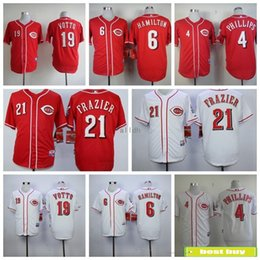 2888e2284 ... 2017 Cincinnati Reds Baseball Jerseys Flexbase 21 Todd Frazier 19 Joey  Votto 6 Billy Hamilton 4 ...