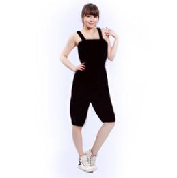 c5cca8993c Al por mayor-Mujer Fitness Aeróbic Ropa de pérdida de peso Traje de adelgazamiento  Sauna Sauna Traje Mujer Pantalones sauna Sportwear MLXL2XL3XL