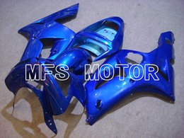 Kit Motorcycles For Sale Australia - Hot Sale Motorcycle Fit For 2003 2004 Kawasaki Ninja ZX-6R 03 04 ABS Plastic Injection Mold New Fairing Bodywork Kit