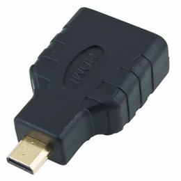 hdmi type d micro connector NZ - Adapter HDMI Female to Micro HDMI Type D Male F M Converter Connector HD TV Camera
