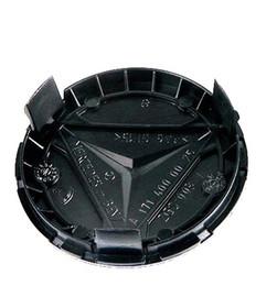 4 шт. Колесо Эмблемы Центрирующие колпаки Крышка Логотип автомобиля Декоративный центр для MERCEDES Синий / Темно-синий / Черный 75 мм C180 C200 C280 E200 E260 E300