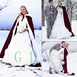 Blue Cotton Cloak NZ - new 2017 Custom Make Fashion Satin Cape Cloak Medieval Renaissance Wedding Bridal Wraps 2017 High Quality Cheap