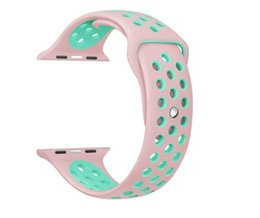 $enCountryForm.capitalKeyWord Australia - New Arrived NK Sport Silicone More Hole Straps Bands For Watch Series 1 2 Strap Band 38 42mm Bracelet discovery 4gb ram bluetooth headphones