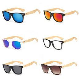 65feeeeb29 Hot Sale Wood Sunglasses Natural Bamboo Wooden Eyewear Designer Men Women  Classic Sun Glasses Logo Available Plastic Frame Cheap