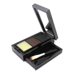 $enCountryForm.capitalKeyWord Canada - New 2016 Hot Sale Professional Eye Shadow Eye Brow Makeup Eyebrow Powder + Eyebrow Wax Palette + Brush Make Up Set Cosmetic