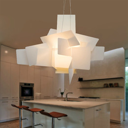 E27 big bulb lEd light online shopping - Modern Irregular Foscarini Big Bang Chandelier Light Creative Chandelier Lighting Art Pendant Lamp Ceiling E27 LED Bulbs V