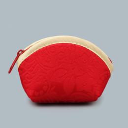 $enCountryForm.capitalKeyWord Canada - Seashell Zipper Small Packaging Bags for Wedding Red Favor Candy Box Christmas Gift Bag Birthday Party Chocolate Favor Box