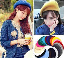 $enCountryForm.capitalKeyWord Canada - New arrive Spring Autumn woman Wool beret hats Princess hat Caps MOQ:50PCS DHL Free shipping