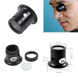 Loupe Wholesalers Australia - Wholesale- 1PC 5x Watch Jewellery Magnifier Loupe Eye Len Eyepiece Repair Kit Tool #185