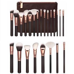 Maquillage Brosses Set 15 pcs visage et yeux brosses, ackage FaceEye Brosses Daily Cosmétiques DHL livraison gratuite
