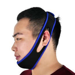 Chinese  Anti Snoring Chin Strap Neoprene Stop Snoring Chin Support Belt Anti Apnea Jaw Solution Sleep Device manufacturers
