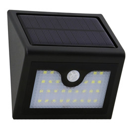 Chinese  Brand New 28 LED Solar Light Outdoor Infrared Motion Sensor Wall Lamp Waterproof Garden Patio Yard Steet Emergency Solar Lamp manufacturers