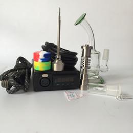 $enCountryForm.capitalKeyWord Canada - E nail kit From G9 Electronic eNail Temperature Controller Box For DIY Smoke Coil with Titanium Nail with Glass Bong Vapor Wax Herb