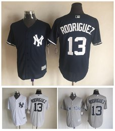 new product b07d4 edb33 new york yankees 13 alex rodriguez grey flexbase authentic ...