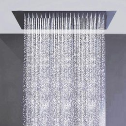 Recessed Rain Shower Head. Discount recessed shower heads kaiping factory supply 1200X600mm big  head rainfall and water curtain multiple Recessed Shower Heads 2018 Rain