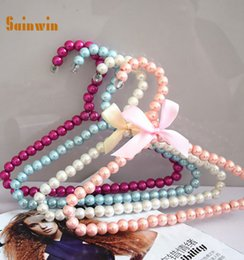 $enCountryForm.capitalKeyWord Canada - Sainwin 20pcs lot baby plastic pearl hangers for clothes pet dog hanger kids clothes pegs