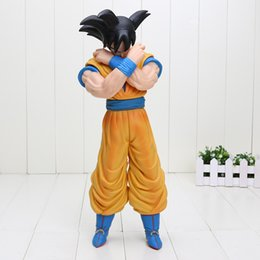 Goku Saiyan Kid Action Figure Canada - 36cm Dragon Ball Z Super Big Super Saiyan Son Goku PVC Action Figure Model Toy kids toys