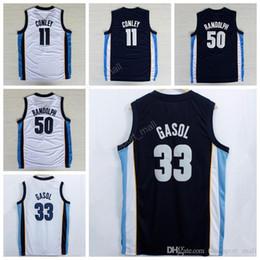 3d0866b6ca89 ... Cheap 50 Zach Randolph Jersey Sale Men 11 Mike Conley 33 Marc Gasol  Basketball Jerseys For ...