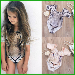 $enCountryForm.capitalKeyWord Canada - baby boys girls rompers bikini tiger leopard animal print clolorful children swimsuit one-piece hot selling high quality free shipping