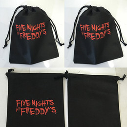 """$enCountryForm.capitalKeyWord NZ - Five Nights at Freddy's Drawstring Bags FNAF 10"""" Party Gift Candy Goody Bags Nonwovens Freddy Toy Bag Kids Toys Carry Bag"""