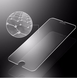 iphone tempered premium hd NZ - 9H 0.25mm HD Premium Tempered Glass For iPhone 7 6 6S Plus 5 5S 4 4S 5C 6SPlus Screen Film Protector High Quality 100pcs lot