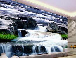 $enCountryForm.capitalKeyWord Canada - 3d wallpaper custom photo non-woven mural Bluestone falls the grass TV setting wall 3d wall murals wallpaper picture decoration painting