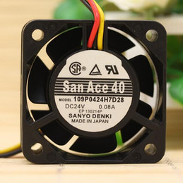 $enCountryForm.capitalKeyWord Australia - Original SANYO 109P0424H7D28 24V 0.08A 4015 4CM 3 wire quiet inverter fan