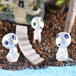 Alien toys online shopping - High quality New Luminous Elves Tree toy Elf Posture Figurines Cartoon Alien Small Toy Landscape accessories IC742
