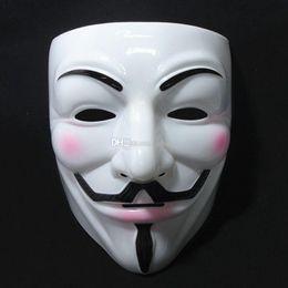 cheap masquerade masks v mask vendetta party mask halloween mask party face mask halloween mask super scary cosplay fancy 10pcs lot