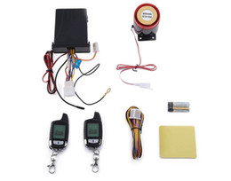 Motorcycle anti theft alarMs online shopping - 2016 NT MS002 Universal Remote Central Kit Universal Water Resistance Two Way LCD Motorcycle Anti theft Security Alarm System