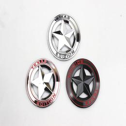 $enCountryForm.capitalKeyWord Canada - 3D metal Accessories Sticker TEXAS EDITION Pentagram Emblem Car Fender Boot Trunk For Chevrolet Malibu Decoration Sticker Car Styling