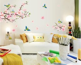 Discount Cherry Blossom Wall Stickers | 2017 Cherry Blossom Tree ...