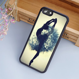 4s cases girl online shopping - The Ballet Girl Cool Sexy woman cellphone Cases For iPhone S Plus Plus S C SE S Back Cover