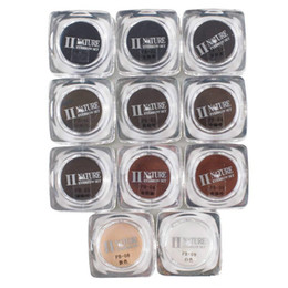 Discount makeup bottles - 11 Colors Square Bottles PCD Tattoo Ink Pigment Professional Permanent Makeup Ink Supply Set For Eyebrow Lip Make up Tat