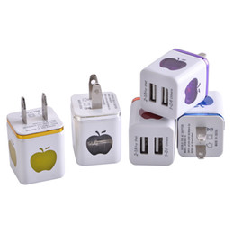 China us wall charger dual usb ports Led light 2.1A+1A Eu US ac home power adapter plug for iphone 6 7 8 Samsung s8 note 8 mp3 supplier light wall charger dual usb suppliers
